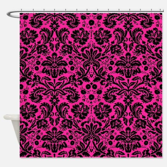 Hot Pink Shower Curtains | CafePress