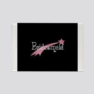 Bridesmaid - Shooting Star Rectangle Magnet