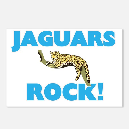 Jaguars rock! Postcards (Package of 8)
