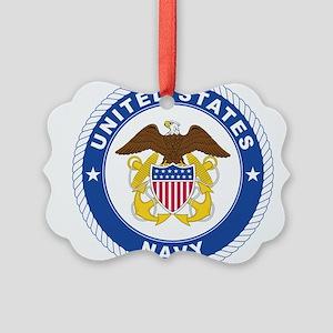 Navy Ornament