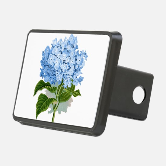 Blue hydrangea flowers Hitch Cover