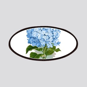 Blue hydrangea flowers Patches
