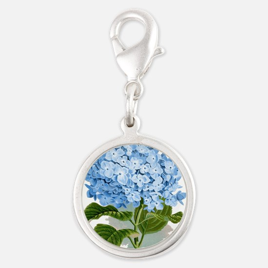 Blue hydrangea flowers Charms