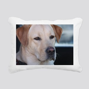 0 cover pets 521 Rectangular Canvas Pillow