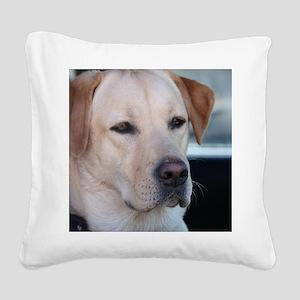0 cover pets 521 Square Canvas Pillow