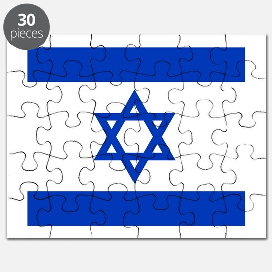 Flag of Israel Puzzle