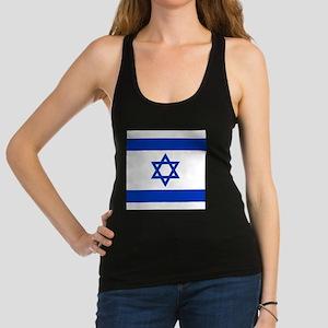 Flag of Israel Racerback Tank Top