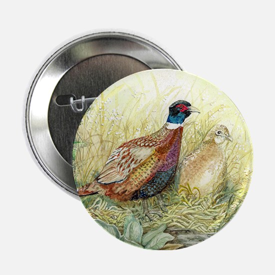 "Pheasant 2.25"" Button"