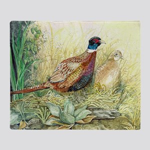 Pheasant Throw Blanket