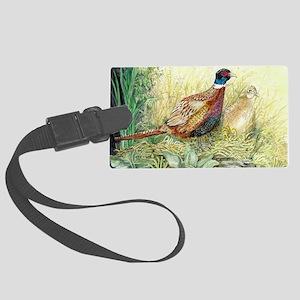 Pheasant Large Luggage Tag