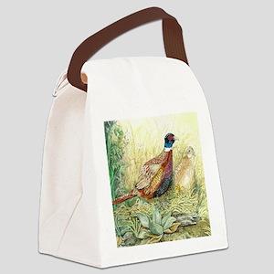 Pheasant Canvas Lunch Bag