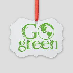 2-Go-Green-blk Picture Ornament