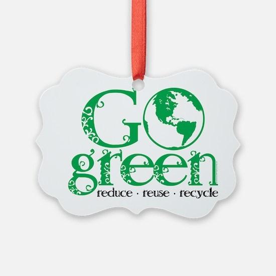 Go-Green Ornament