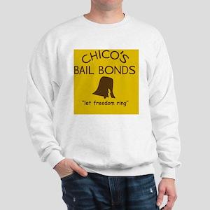 Chicos Bail Bonds Magnet Gold Sweatshirt