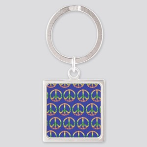 peace stadium blanket2 Square Keychain