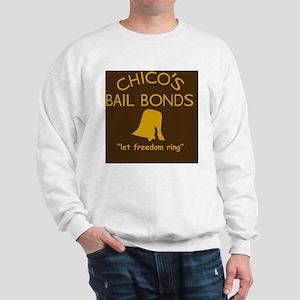 Chicos Bail Bonds Magnet Brown Sweatshirt