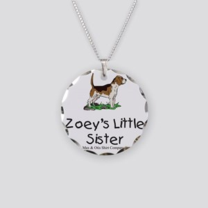 zoeys-little-sister Necklace Circle Charm