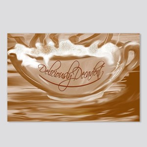 Deliciously Decadent-coff Postcards (Package of 8)