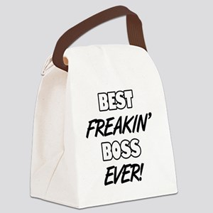Best Freakin' Boss Ever Canvas Lunch Bag