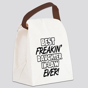 Best Freakin' Daughter-In-Law Eve Canvas Lunch Bag