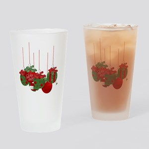 Christmas Ornaments Drinking Glass