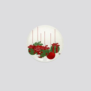 Christmas Ornaments Mini Button