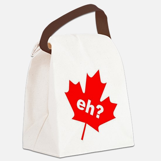Eh? Canadian Slang Canvas Lunch Bag