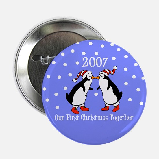 Our First Christmas Together Button