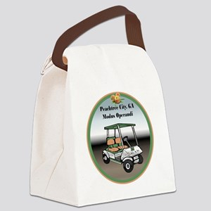 Peachtree City, Georgia Canvas Lunch Bag