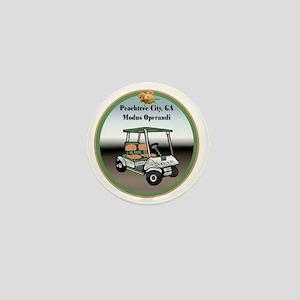 Peachtree City, Georgia Mini Button