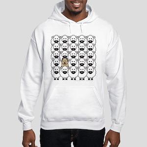 Briard in the Sheep Hooded Sweatshirt