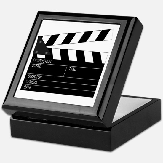 Director' Clap Board Keepsake Box