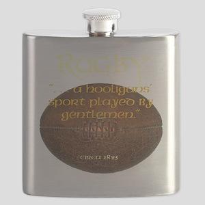 Rugby Hooligans Flask