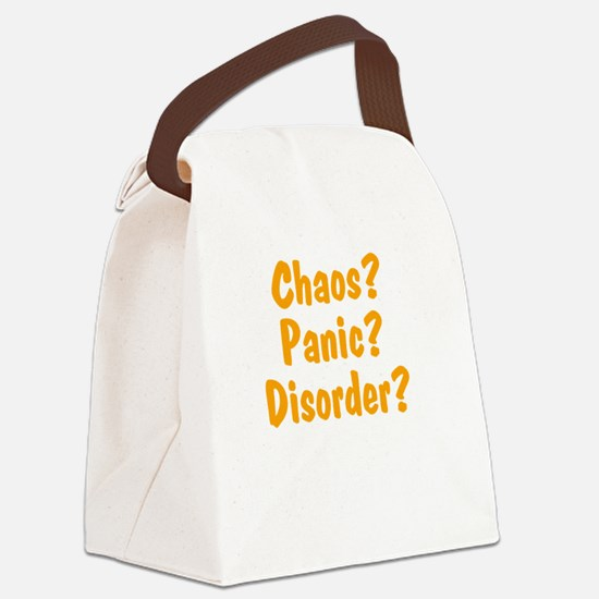 chaos-panic-disorder2 Canvas Lunch Bag