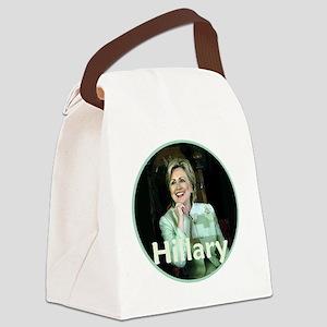 Hillary Clinton Canvas Lunch Bag