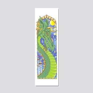 dragonbookmark 20x6 Wall Decal