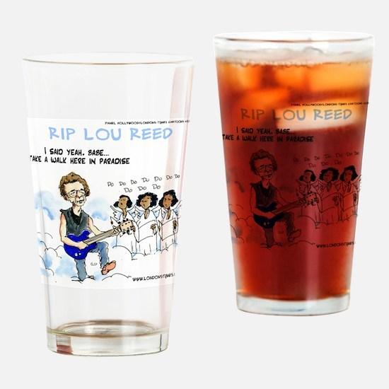 Walk On The Wild Side Drinking Glass