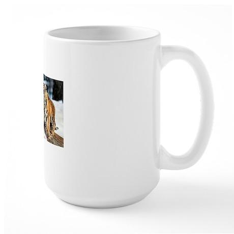 Tiger Cubs Three Large Mug