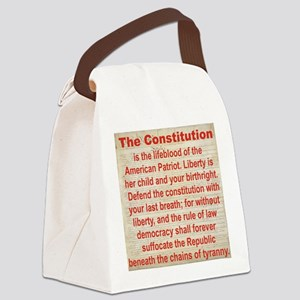 2-THE CONSTITUTION Canvas Lunch Bag