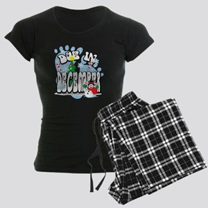 Due-In-December Women's Dark Pajamas