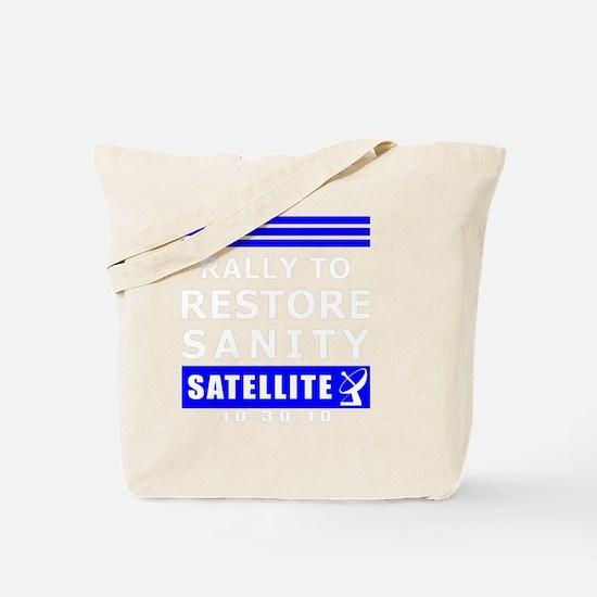rally-white Tote Bag