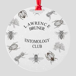 entoClock3 Round Ornament