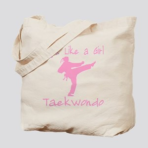 fight like a girl(blk) copy Tote Bag