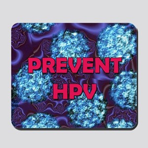 Prevent HPV 5 travel Mousepad