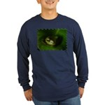 Lazy Frog Long Sleeve Dark T-Shirt