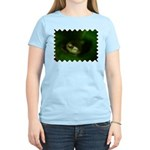 Lazy Frog Women's Pink T-Shirt