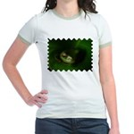 Lazy Frog Jr. Ringer T-Shirt