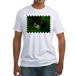 Lazy Frog Fitted T-Shirt