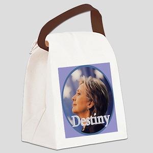 Hillary Destiny Canvas Lunch Bag