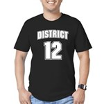 District 12 Design 6 Men's Fitted T-Shirt (dark)